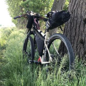 Paesaggi in cui pedalo con la mia bici